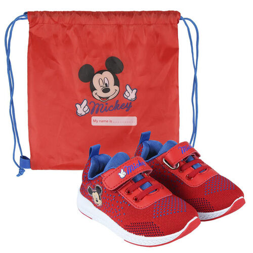 Zapato deportiva con gym bag de Mickey Mouse