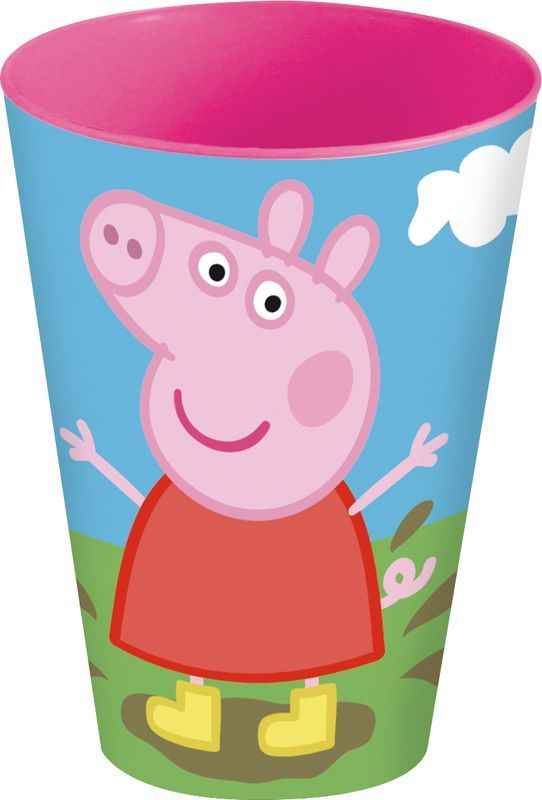 Vaso apilable pp 430ml de Peppa Pig (0/24)