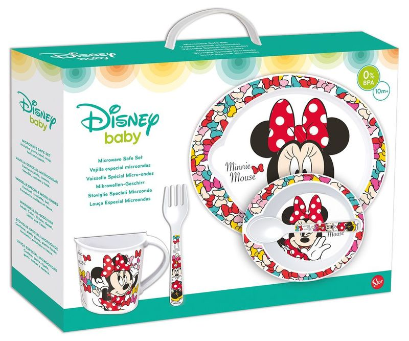 Disney Set Microondas Baby 5 Piezas STOR ST-45379